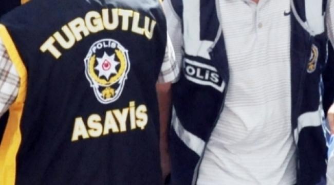 Turgutlu'da aranan şüphelilere operasyon 10 gözaltı