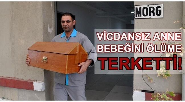 Turgutlu'da poşete sarılı bebek cesedi bulundu
