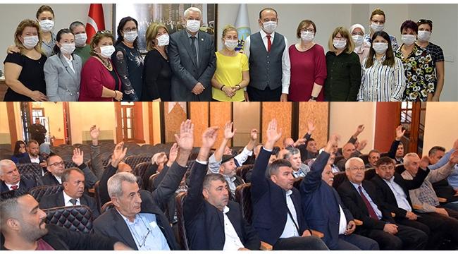 Turgutlu Kent Konseyi kadınlar ve muhtarlar meclisleri toplandı