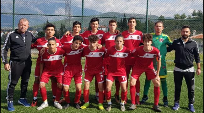 Turgutluspor U16 haftayı galibiyetle kapattı
