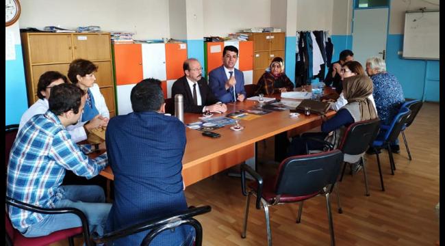 Türk Eğitim-Sen'den Turgutlu'da okul ziyaretleri