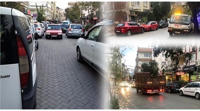 Türkmen Yolunda hatalı park temizliği