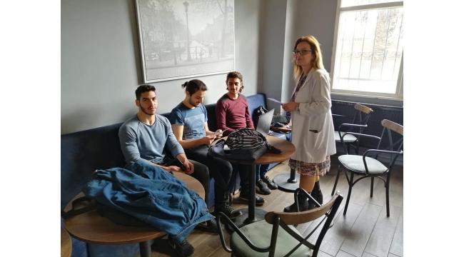 Üniversiteli öğrenciler organ bağış etkinliğine katıldı