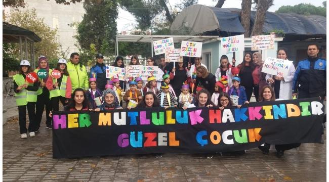 Zübeyde Hanım Uygulama Anaokulunda 'Dünya Çocuk Hakları Günü' etkinliği