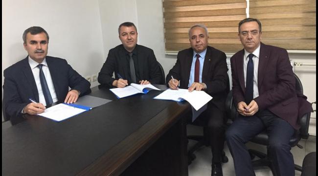 Halk Eğitim Merkezi ile Meslek Yüksekokulu arasında iş birliği protokolü