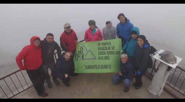 Olympos dağcıları Mahmut Dağı'na tırmandı