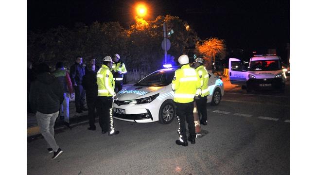 Otomobilin çarptığı yaya ağır yaralandı