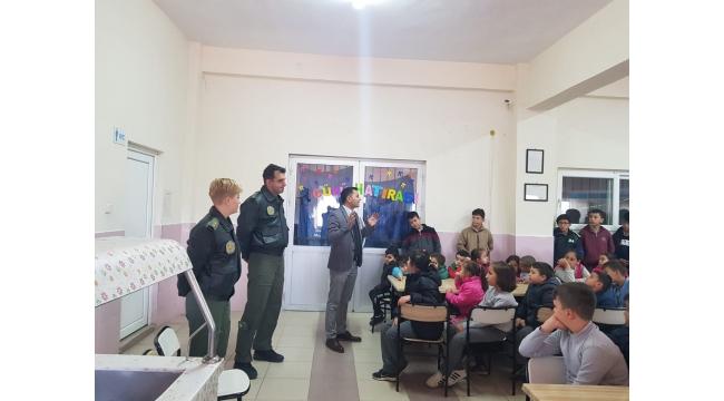 Refik Pınar Ortaokulu pilotları ağırladı