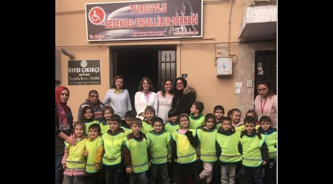 Sevgi Pınarım minikleri engellileri unutmadı