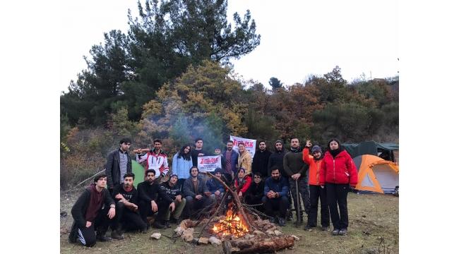 TURGEDAK sporcularından Spil'de kış kampı