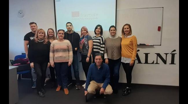 Turgutlu'da 'Erasmus+ Okul Ortaklığı' projesi kabul edilen tek okul