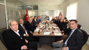 Turgutlu OSB Müteşebbis Heyeti, Vali Deniz başkanlığında toplandı