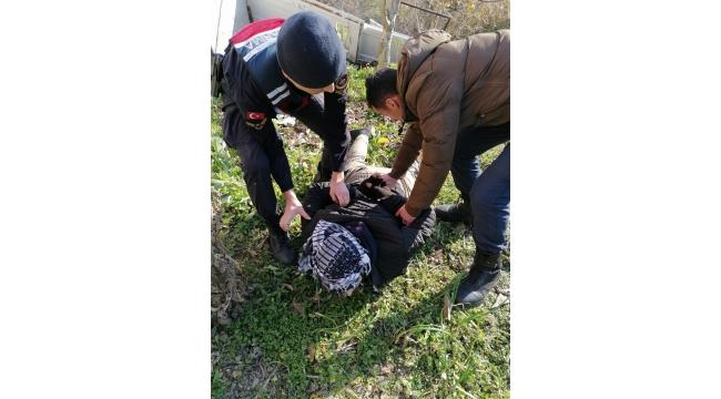 7 Ayrı Suçtan Aranan Şahıs Jandarma Tarafından Gözaltına Alındı