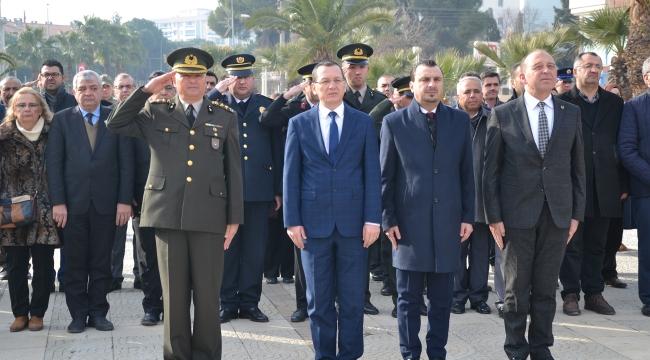 Atatürk'ün Turgutlu'ya Gelişi Kutlandı