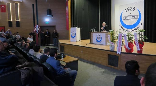 Cevizoğlu Turgutlu'da Konferans Verdi