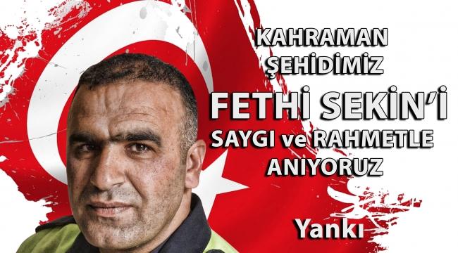 'Kahraman Şehit Fethi Sekin'