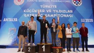 Kasabalı Bora Çilek 16 Yaş grubunda Türkiye Şampiyonu oldu VİDEO