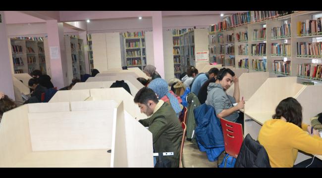 Kütüphane'den 40 bin 065 kişi faydalandı