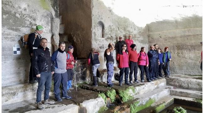 Zirve Dağcılık Balaban Göleti - Roma Hamamları Yürüyüşünde