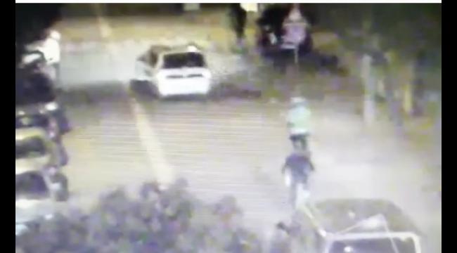 Alkol uygulamasından kaçmaya çalışan sürücünün polise direndiği anlar kamerada!