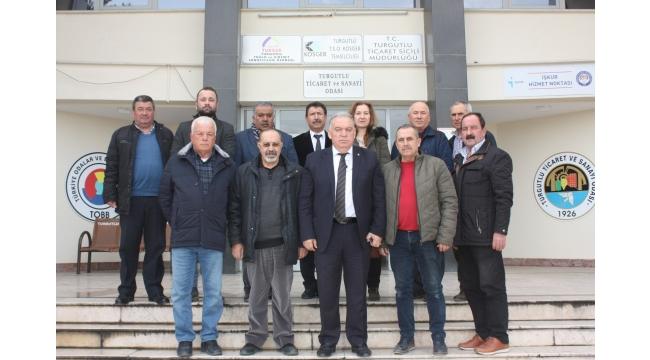 Başkan Aydın, TARİŞ birlik başkanları ve delegelerini ağırladı