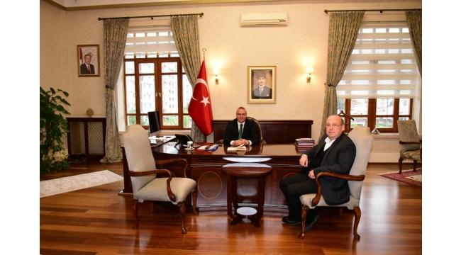 Bilgehan Demirdöver'den Vali Deniz'e ziyaret