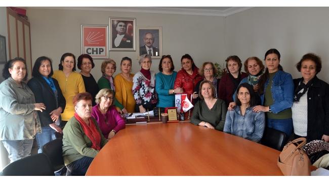 CHP Kadın Kollarında görev bölümü yapıldı
