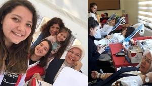 Cumhuriyet Anaokulu'nun kan bağışı kampanyasına yoğun ilgi