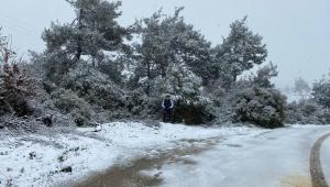 Kar yağışı etkisini arttırdı - VİDEO