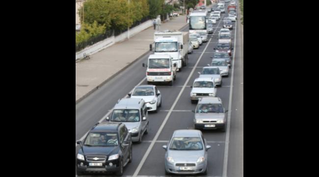Manisa'da trafiğe kayıtlı araç sayısı 592 bin155