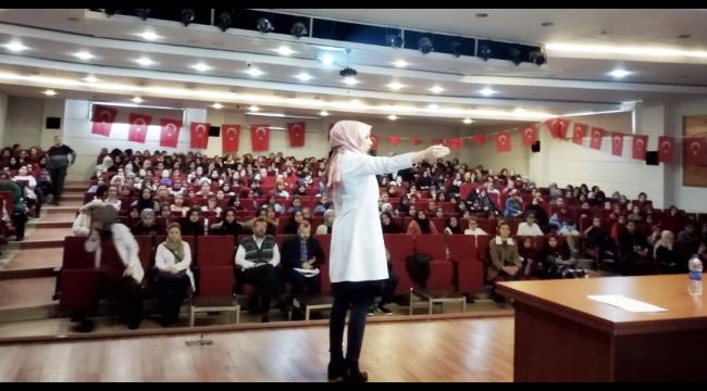 Öğrencilere omurga sağlığını korumanın yolları anlatıldı
