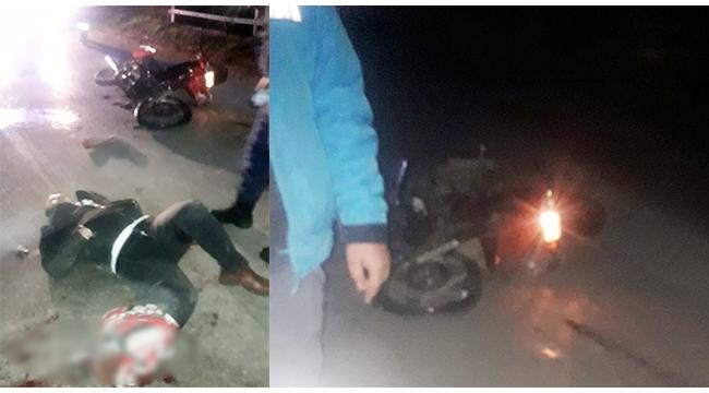 Otomobil sürücüsü motosiklete çarpıp kaçtı: 1 yaralı