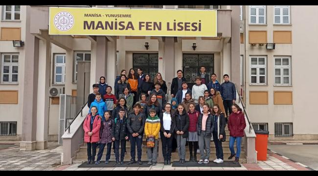 Şadi Turgutlu Ortaokulu'ndan Manisa'daki proje okullarına ziyaret