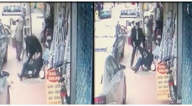 Sokak ortasında cinayet güvenlik kamerasında (TIKLA İZLE)