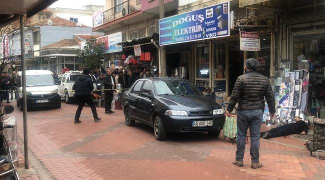 Turgutlu'da bir kişi tabancayla vurularak yaralandı