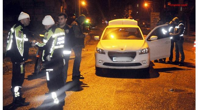 Turgutlu'da huzur uygulaması: 10 sürücüye 7 bin 908 TL ceza