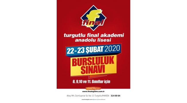 Turgutlu Final Akademi Anadolu Lisesi'nden sınava davet