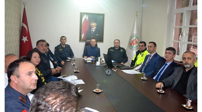 Turgutlu'nun trafik güvenliği görüşüldü