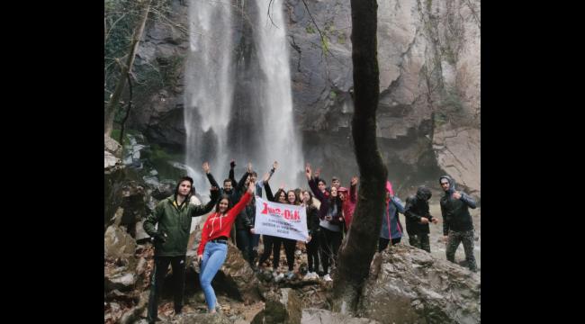 Türkmen Su Uçtu Şelalesi Turgedak gençlerini büyüledi