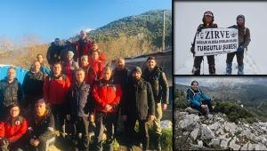 Zirve dağcılarıyla Kaynaklar - Nifdağı yürüyüşü
