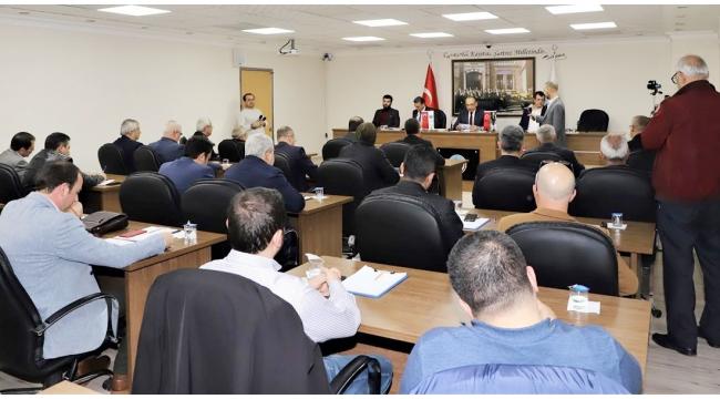 Belediye meclis toplantısı ertelendi