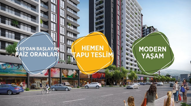 Düşen kredi oranları ve artan kredi miktarı ile herkes Life City'li olacak!