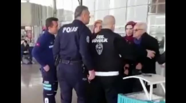 O polis görevden uzaklaştırıldı