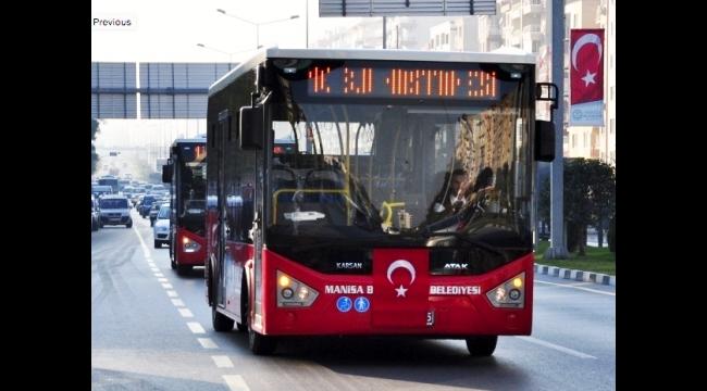 Toplu taşıma araçları 3 gün hizmet verecek