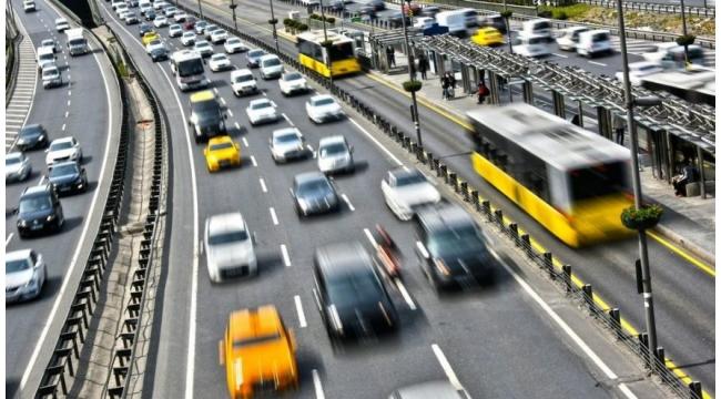 Trafiğe kaydı yapılan taşıt sayısı %43,8 azaldı