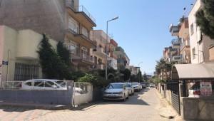 Turgutlu'da bir apartman karantinaya alındı