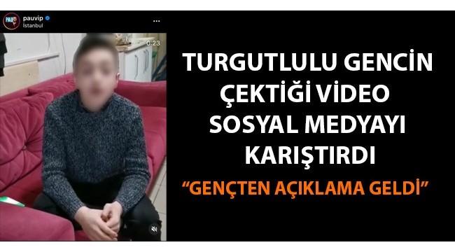 Turgutlulu gencin TikTok videosu sosyal medyayı karıştırdı