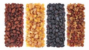 Çekirdeksiz kuru üzümün kilogramı 9,80-9,85 liradan işlem gördü