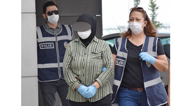 Eşini zehirleyerek öldürdüğü iddia edilen kadın tutuklandı
