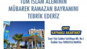 Opet Kaynaklı Akaryakıt'tan Ramazan Bayramı kutlaması